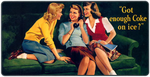 Рекламные плакаты coca-cola. Изображение № 22.