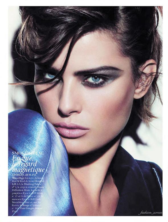 Съёмка: Аризона Мьюз, Каролина Куркова, Наташа Поли и другие для французского Vogue. Изображение № 11.