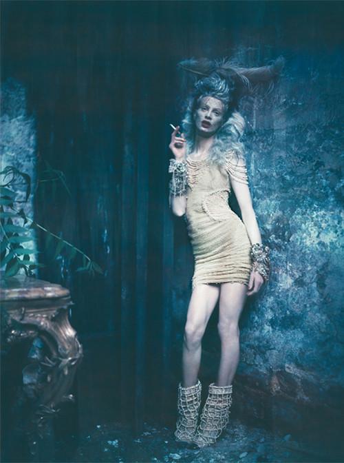 Архивная съёмка: Кристен МакМенами для Vogue Italia, сентябрь 2010. Изображение № 3.