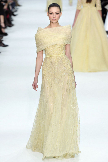 Elie Saab Spring 2012 Couture. Изображение № 13.