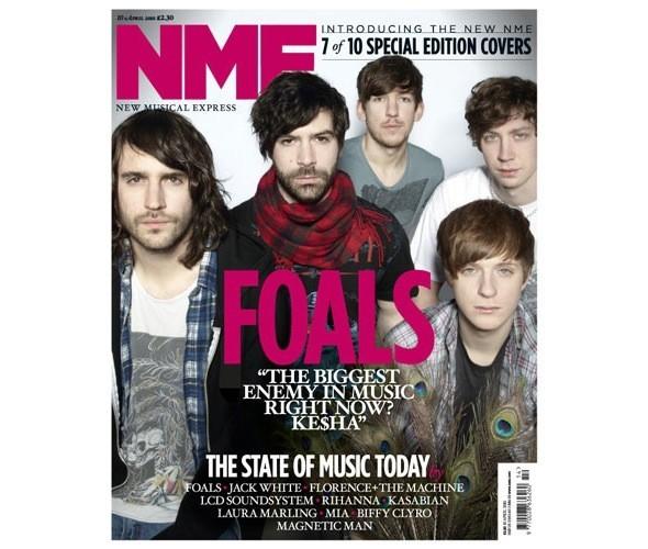 Новый дизайн и десять обложек NME. Изображение № 9.