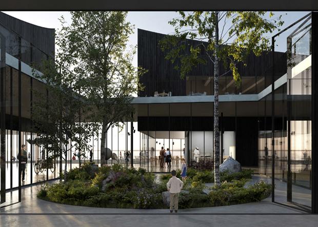 Показан проект Музея Гуггенхайма в Хельсинки . Изображение № 6.