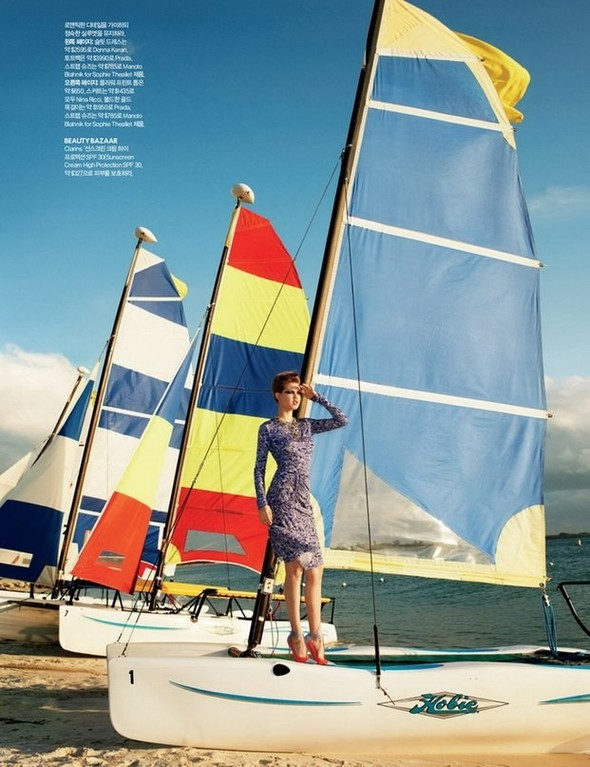 Lindsey Wixson for Harper's Bazaar Korea. Изображение № 8.