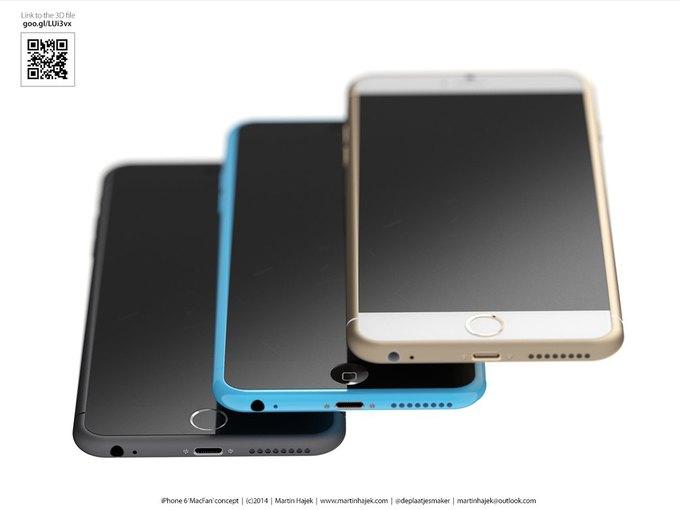 Дизайнер создал концепты iPhone 6s и 6c на основе «слива» из японского журнала. Изображение № 13.
