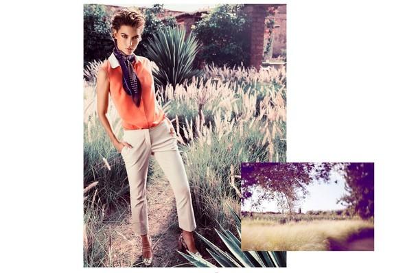 Кампания: Аризона Мьюз для Massimo Dutti SS 2012. Изображение № 7.
