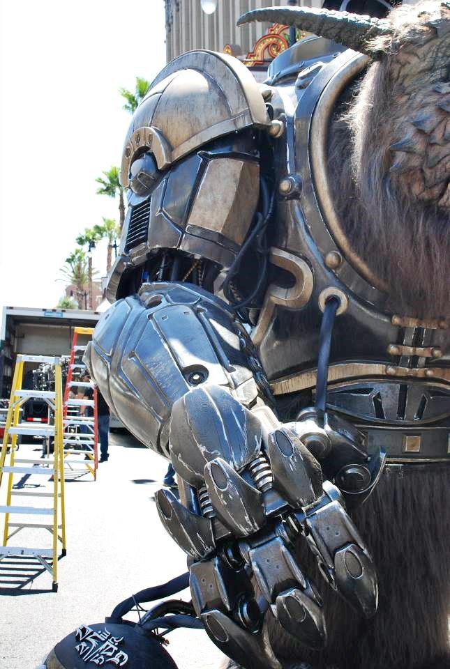 Stratasys рассказала о работе над монстром для Comic-Con . Изображение № 4.