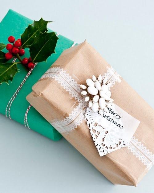 55 идей для упаковки новогодних подарков. Изображение № 16.