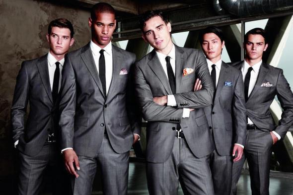 Изображение 15. Мужские рекламные кампании: Mugler, Versace и другие.. Изображение № 9.