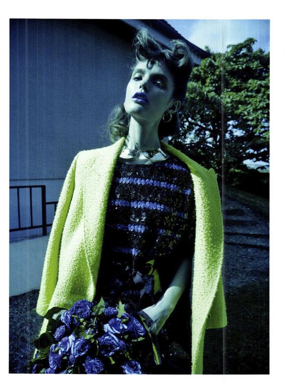 Съёмка: Кэти Фогарти для Marie Claire. Изображение № 13.