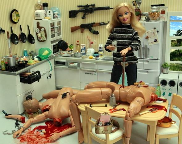 Кровавая оргия от Барби. Изображение № 14.