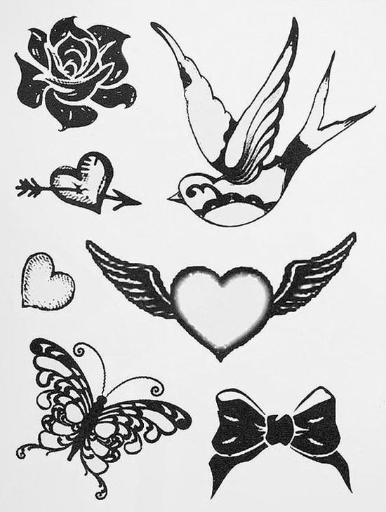 Коллекция временных татуировок Topshop. Изображение № 1.