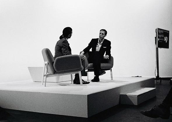 Имран Амед разговаривает с фотографом Ником Найтом в рамках проекта «Пионеры моды». Изображение № 3.