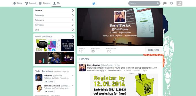 Twitter тестирует новый дизайн сайта. Изображение № 3.