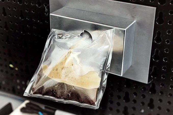 Итальянцы установят на МКС кофе-машину . Изображение № 2.