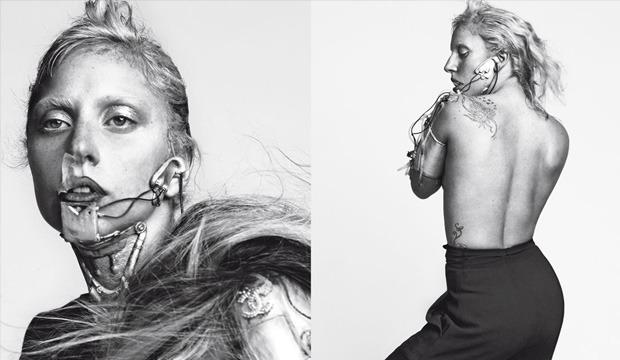 Lady Gaga записывает новый альбом Artpop голой . Изображение № 1.