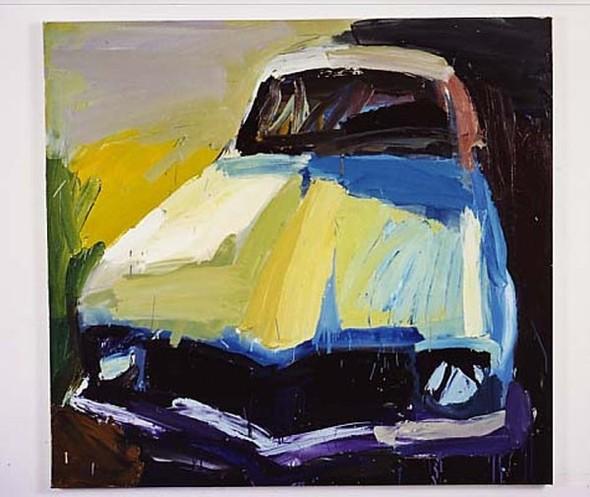 Абстрактные автомобили Бена Куильти. Изображение № 12.