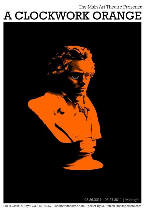 A Clockwork Orange - 20 кинопостеров на тему ультранасилия. Изображение № 8.