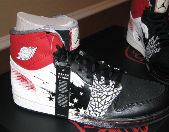 Dave White x Air Jordan 1. Изображение № 2.