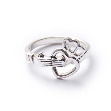 Кольца влюбленных — кладдахские кольца из Ирландии. Изображение № 7.