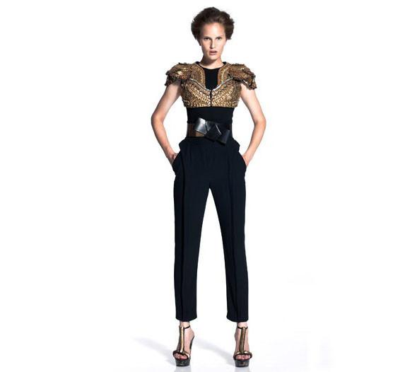 Новая круизная коллекция Alexander McQueen. Изображение № 5.