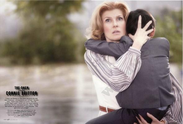 Съёмка: Актрисы из «Хора» и «Американской Истории Ужасов» для Elle. Изображение № 6.
