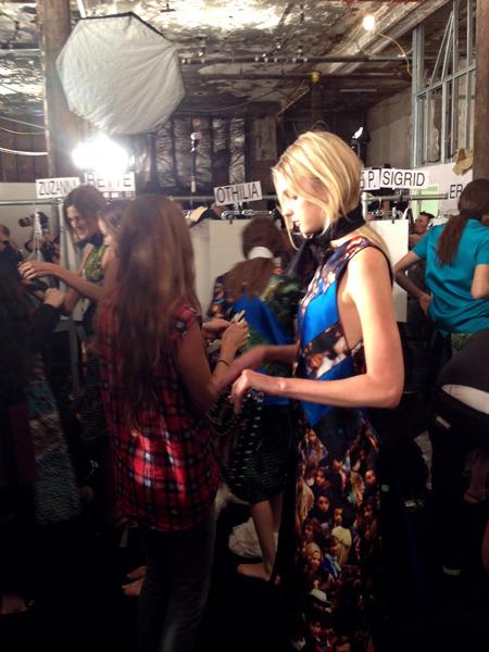 Дневник модели: Эксклюзив для Proenza Schouler на Нью-Йоркской неделе моды. Изображение № 38.
