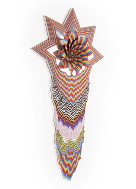 Объемные скульптуры из бумаги Jen Stark. Изображение № 28.
