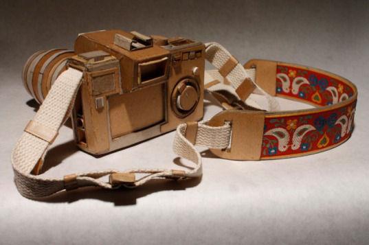 Картонные фотокамеры Киля Джонсона. Изображение № 2.