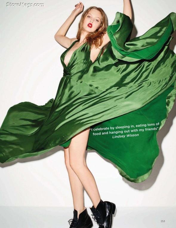 Съёмка: Терри Ричардсон для британского Vogue. Изображение № 8.