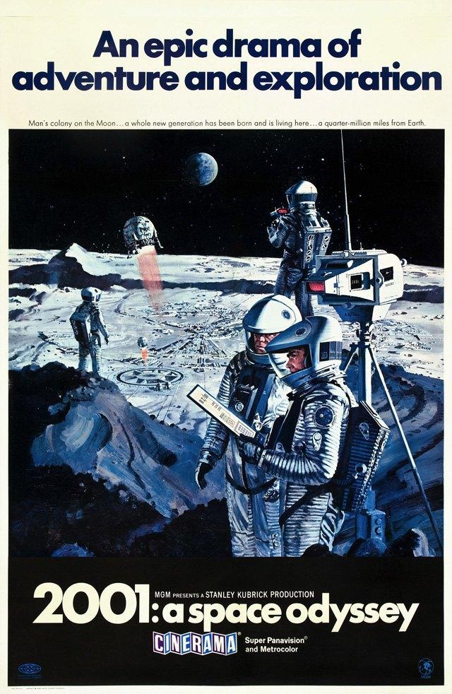 Постер к фильму «2001 год: Космическая одиссея». Изображение № 2.