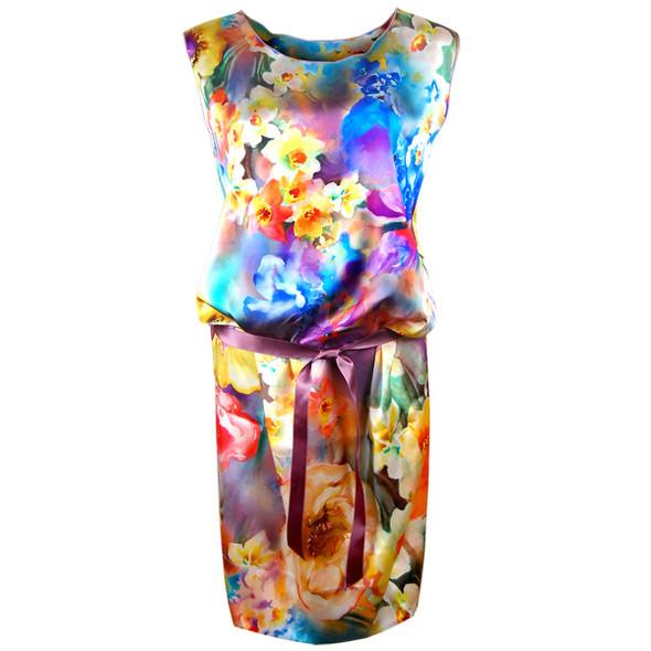 """""""Цветочное платье"""" Tri'Co Cashmere (www.trico.ru). Изображение № 12."""