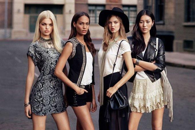H&M посвятили коллекцию моделям. Изображение № 1.