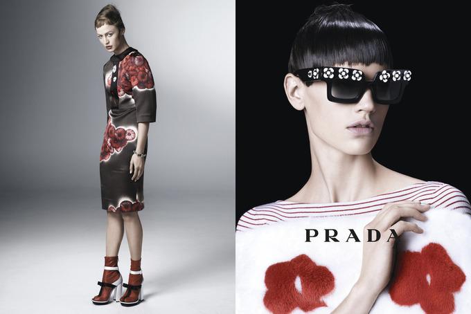 Вышла кампания Prada с Пивоваровой и Зиммерманн. Изображение № 9.