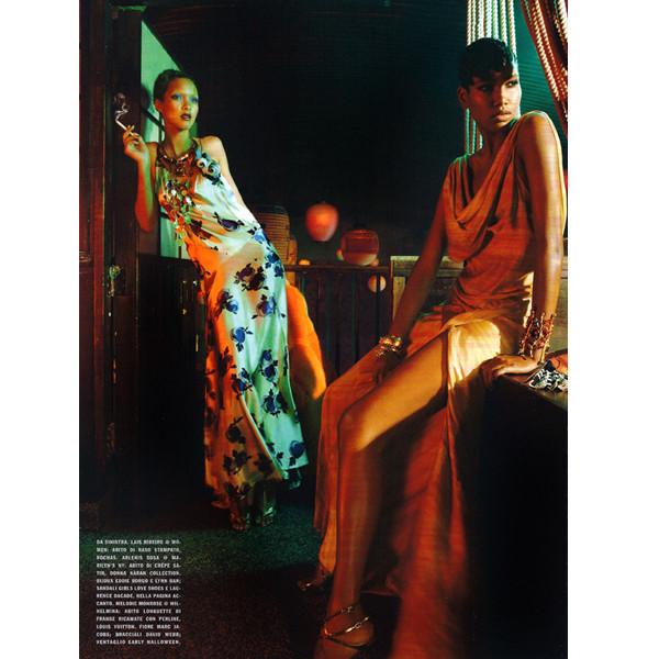 Изображение 14. The Blackallure: съемка с темнокожими моделями в итальянском Vogue.. Изображение № 14.