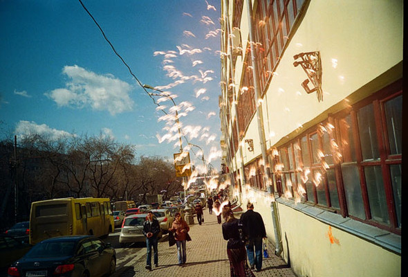 Lomography. Connecting cities. Изображение № 1.