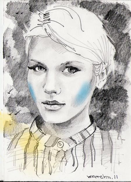 Sketch portraits. Изображение № 13.