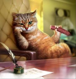 Пособие для любителей котов от Терри Пратчетта. Изображение № 2.