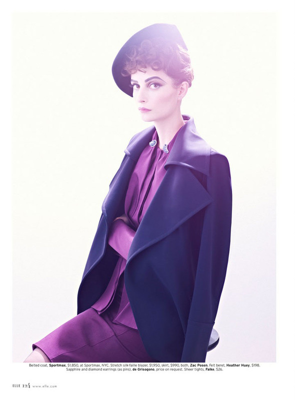 Съёмка: Сюзи Берд для Elle. Изображение № 2.
