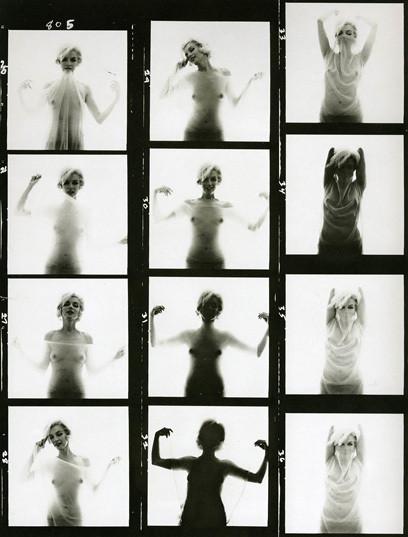 Части тела: Обнаженные женщины на фотографиях 50-60х годов. Изображение № 93.