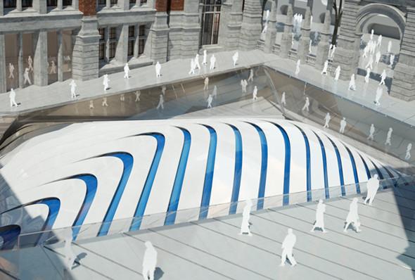 Музей Виктории и Альберта: новый архитектурный проект. Изображение № 2.