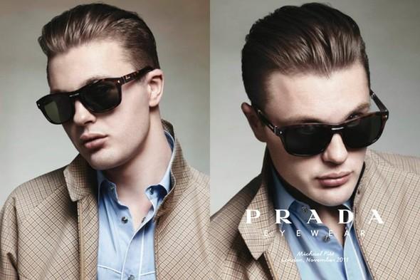 Кампания: Майкл Питт для Prada. Изображение № 11.