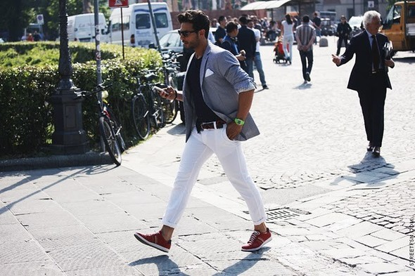 Как одеваются итальянцы? (продолжение). Изображение № 15.