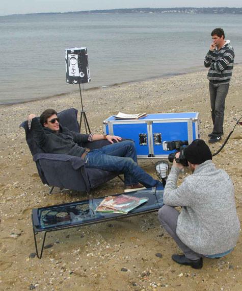 DIESEL показал снимки backstage со съемок Be Stupid. Изображение № 5.