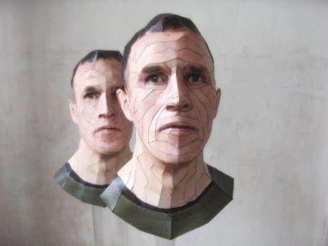Скульптура-оригами. Изображение № 4.