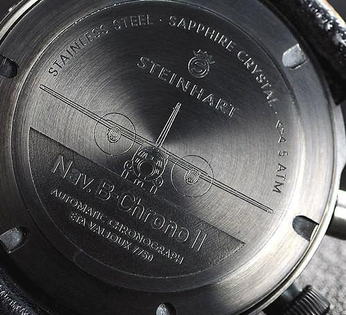 Steinhart Nav B-Chrono II black. 795 EUR (19% VAT incl.). Изображение № 64.