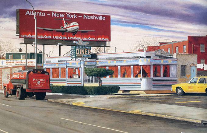 John Baeder, Airline Diner, 1987. Изображение № 47.