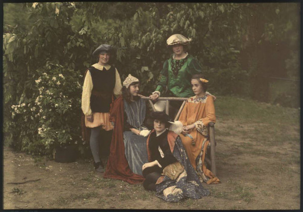 Автохром Люмьер – цветные фотографии начала XX века. Изображение № 15.