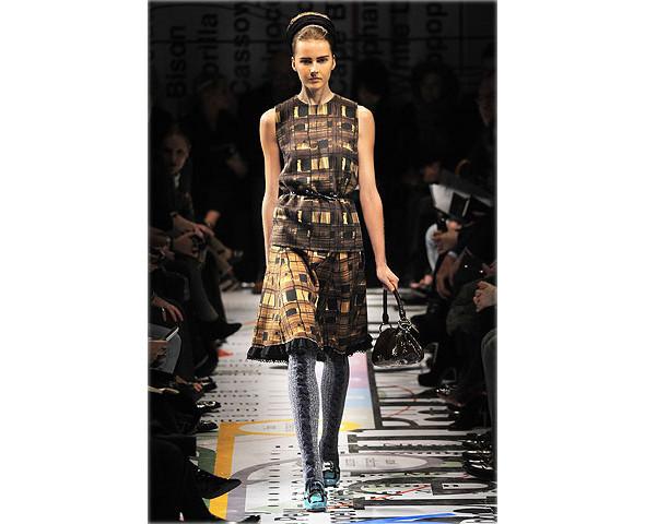 Показ Prada на Неделе моды в Милане. Изображение № 6.