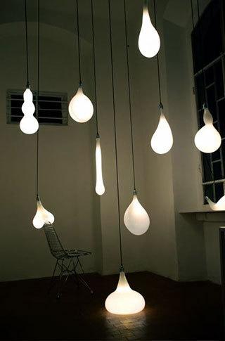 Коллекция ламп ввиде капель. Изображение № 6.