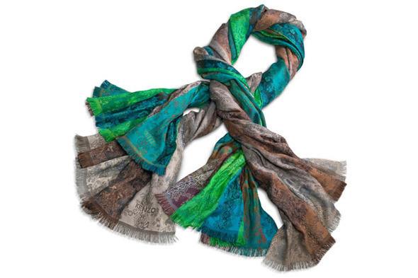 Изображение 5. Kenzo выпускают юбилейную коллекцию шарфов.. Изображение № 8.